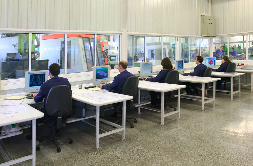 Oficina técnica diseño Ecrimesa Group
