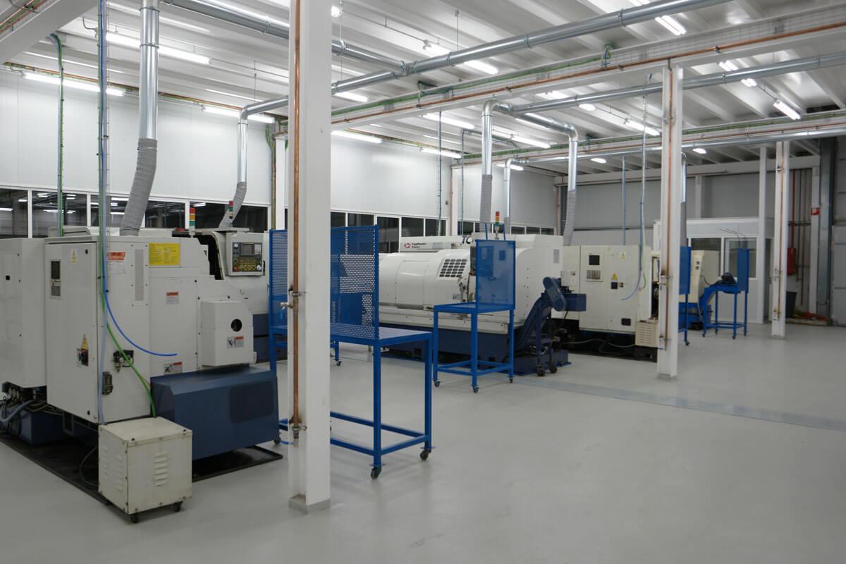 Instalaciones taller mecanizado