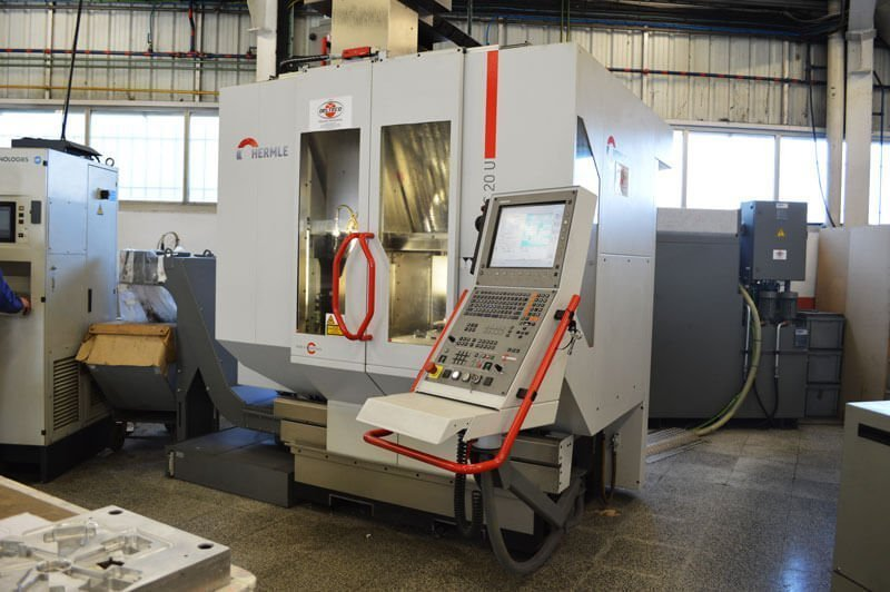 Taller fabricación moldes Ecrimesa Group
