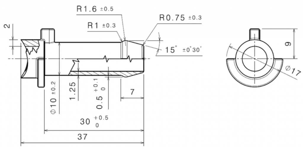 Diseño detallado de microfusión